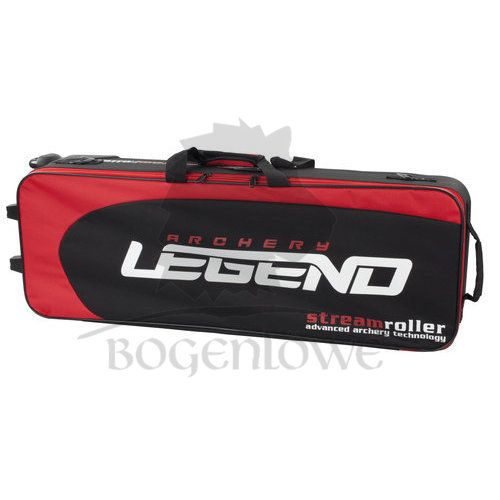 Legend Archery Trolley Recurve Streamroller - rot