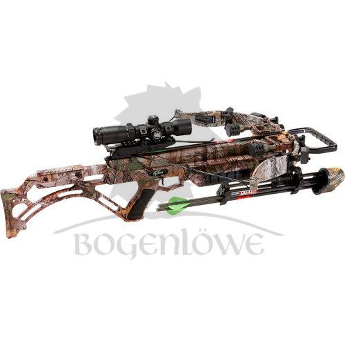 Excalibur Crossbow Micro Suppressor 355 Package Realtree Xtra Tact-Zone Lite Stuff
