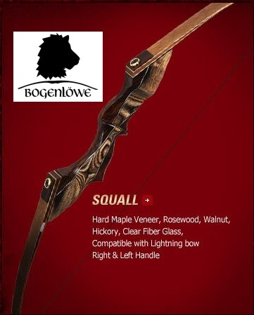 "Samick Squall - 60"" - 30 - 60 lbs - Rechtshand"