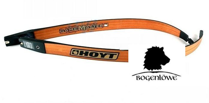 "Hoyt Bow - Game Master - II Black/Brown - 62"" - 35 - 60 lbs -"