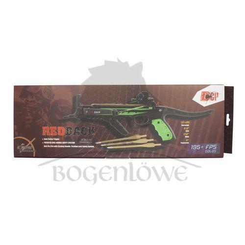 Hori-Zone Pistol Crossbow Redback RTS - green/black - 50 lbs